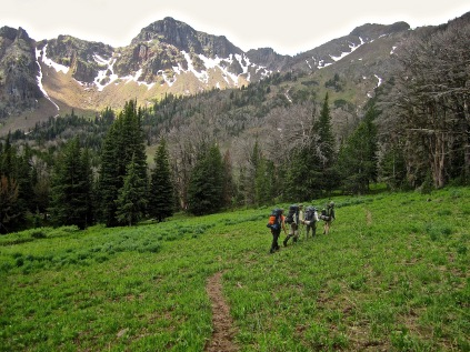 Backpacking in the Greater Yellowstone Area in 2013